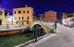 威尼斯严重的风景  免版税库存图片