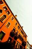 威尼斯公寓在天 免版税图库摄影