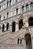 威尼斯共和国总督宫殿- Palazzo Ducale 库存照片