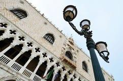 威尼斯共和国总督的宫殿DDetail  免版税库存照片