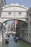 威尼斯叹气` s桥梁  免版税库存图片