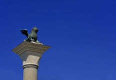 威尼斯圣马克狮子 免版税图库摄影