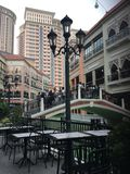 威尼斯在菲律宾的心脏 免版税库存图片