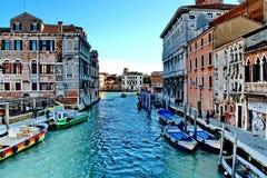 威尼斯场面 免版税库存图片