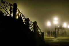 威尼斯夜场面 库存照片