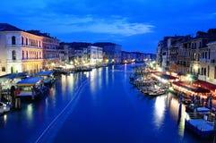 威尼斯夜 免版税库存图片