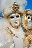 威尼斯屏蔽,狂欢节。 免版税库存照片