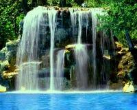 威尼斯式佛罗里达有历史的池 图库摄影