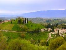 威尼斯式农村风景 免版税库存照片