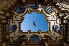 威尼斯式凉廊,伊拉克利翁 图库摄影