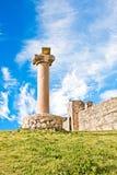 威尼斯式堡垒的methoni 免版税库存照片