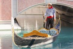 威尼斯式度假旅馆&赌博娱乐场 免版税库存图片