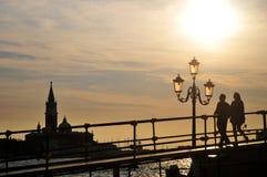 威尼斯式晚上 图库摄影