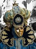 威尼斯式服装的样式 免版税库存照片