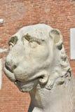 威尼斯式武库狮子 免版税库存图片