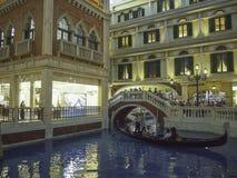 威尼斯式澳门度假旅馆,澳门 库存图片