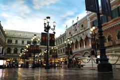 威尼斯式澳门手段 免版税库存照片