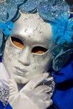 威尼斯式狂欢节屏蔽 库存照片