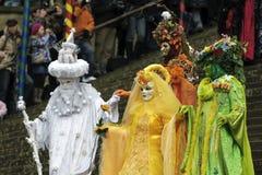 威尼斯式狂欢节的屏蔽 免版税库存照片