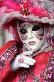 威尼斯式狂欢节的屏蔽 库存图片