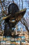 威尼斯式狂欢节面具纪念品 免版税库存照片