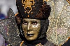 威尼斯式狂欢节面具 免版税图库摄影