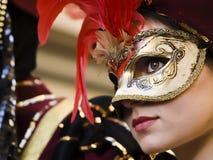 威尼斯式的公主 库存照片