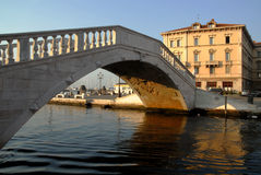 威尼斯式的桥梁 库存照片
