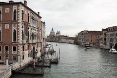威尼斯式的横向 E 免版税库存照片