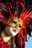 威尼斯式的狂欢节 免版税库存照片