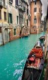 威尼斯式的运河 库存图片