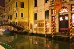 威尼斯式的运河 免版税库存图片