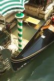 威尼斯式的长平底船 免版税库存照片