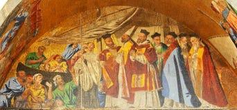 威尼斯式的马赛克 库存图片