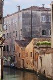 威尼斯式的backstreet 免版税库存图片