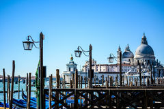 威尼斯式盐水湖 库存图片