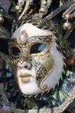 威尼斯式美好的装饰的屏蔽 库存照片