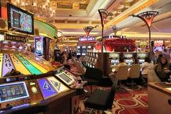 威尼斯式赌博娱乐场 免版税库存照片