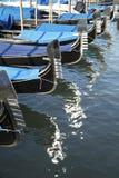 威尼斯式长平底船 免版税库存照片