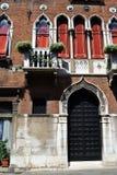 威尼斯式门面 库存图片