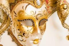 威尼斯式面具 免版税库存图片