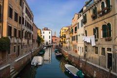 威尼斯式Calle 库存照片