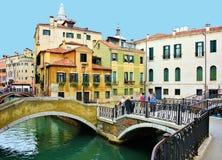 威尼斯意大利桥梁 免版税库存图片