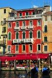 威尼斯意大利都市风景风景 免版税库存照片