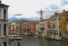 威尼斯意大利水路 库存图片
