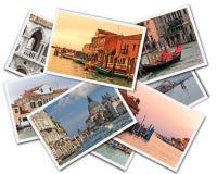 威尼斯拼贴画 库存图片