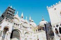 威尼斯教会,意大利 免版税库存图片