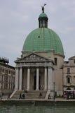 威尼斯教会  免版税图库摄影