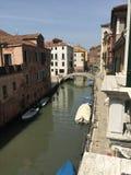 威尼斯水运河 免版税库存图片