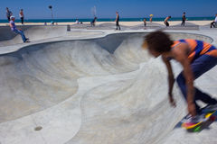 威尼斯海滩Skatepark 库存照片